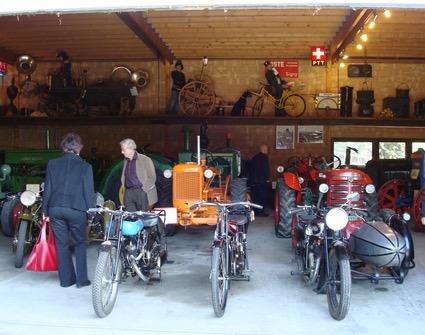 Musée moto à Signy