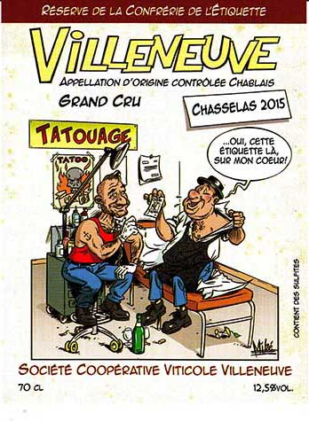 Chasselas Villeneuve
